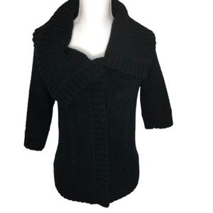Express Size L Open Neck Knitted Cardigan -A1493